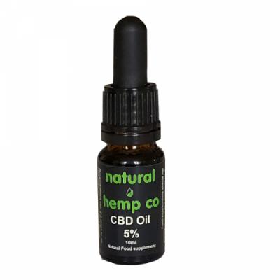 5% Natural Organic Drops